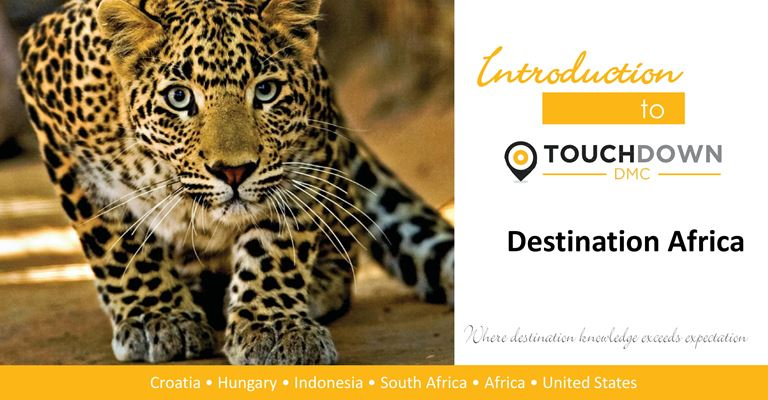 ATTA® Webinar - Destination Africa – Introducing Touch Down DMC