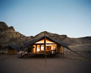 3Hoanib Valley - Accommodation - Bedroom tent exterior.jpg