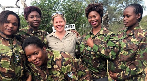 Holly Budge and team from How Many Elephants